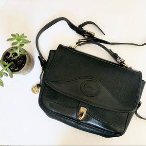 Vintage Dooney & Bourke Messenger Crossbody Bag